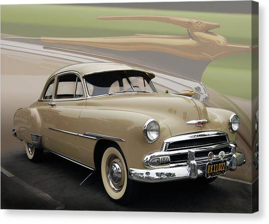 51 Chevrolet Deluxe Canvas Print