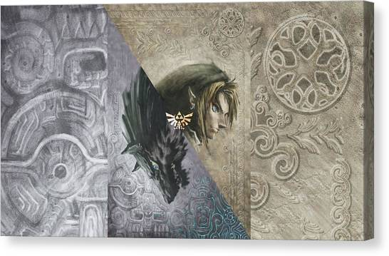 Zelda Canvas Print - 51503 Zelda by Mery Moon