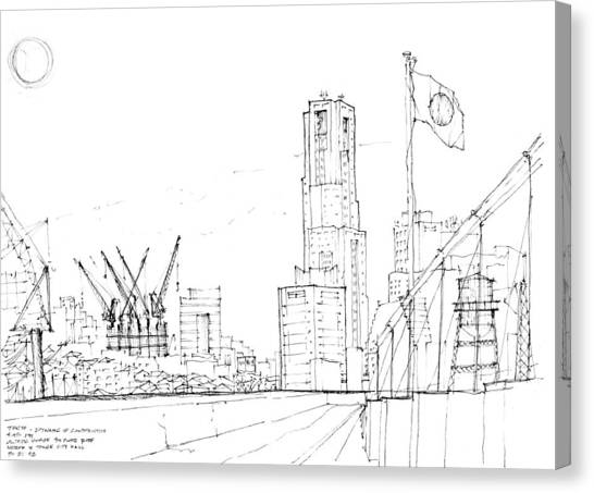 5.2.japan-1-tokyo-skyline Canvas Print