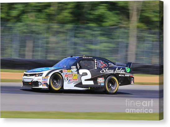 Richard Childress Canvas Print - Chevy Racing by Douglas Sacha