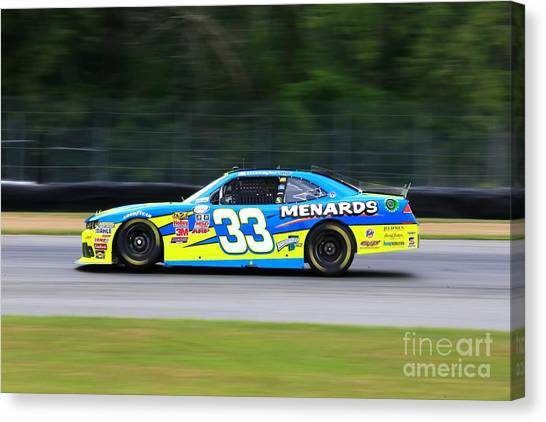 Richard Childress Canvas Print - Nascar Motorsports by Douglas Sacha