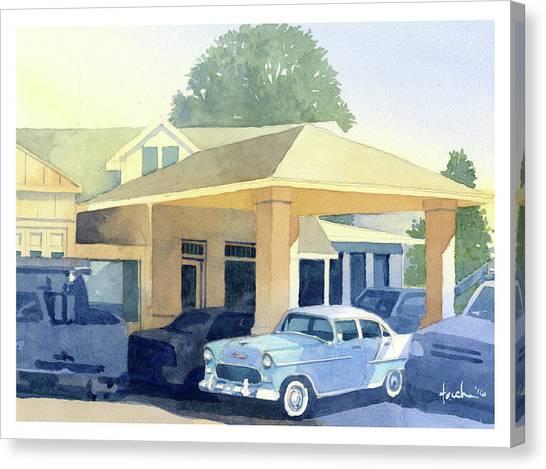 '55 Belaire Canvas Print
