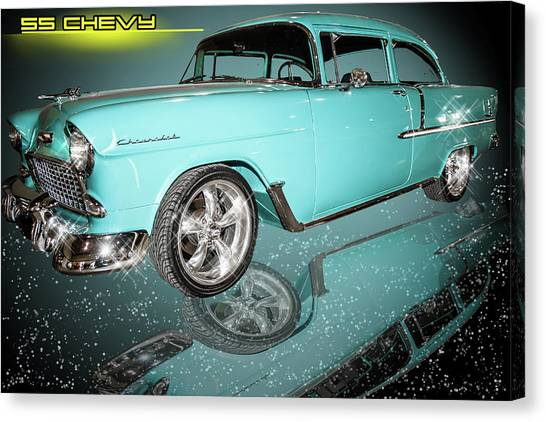 55 Chevy Canvas Print