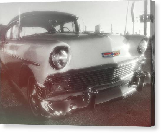 56 Belair In Memphis Canvas Print by JAMART Photography