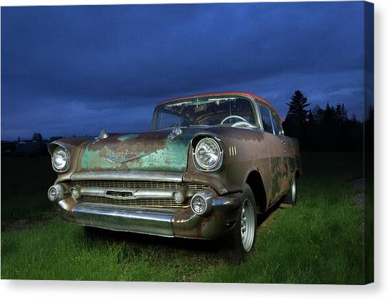 57' Chevrolet Canvas Print