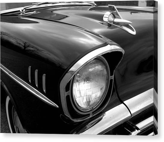 57 Chevy 2 Canvas Print by Audrey Venute