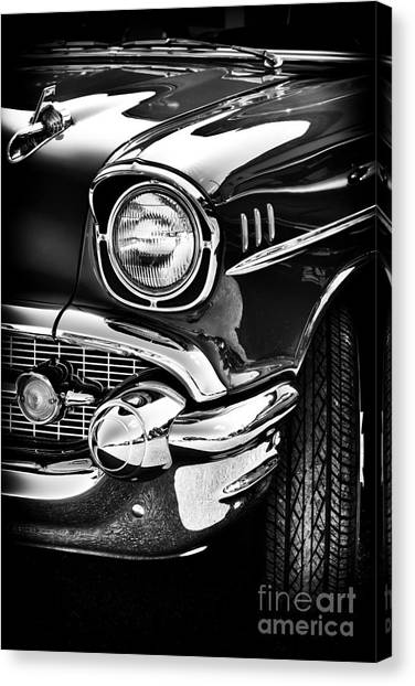 Front End Canvas Print - 57 Chevy by Tim Gainey