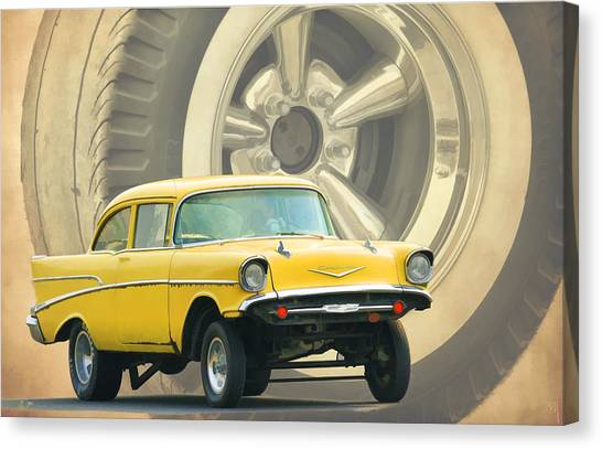 Canvas Print - 57 Gasser by Steve McKinzie