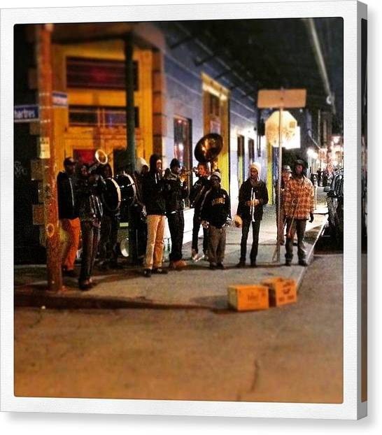 New Orleans Canvas Print - Brass Band  by Jeffrey Domke