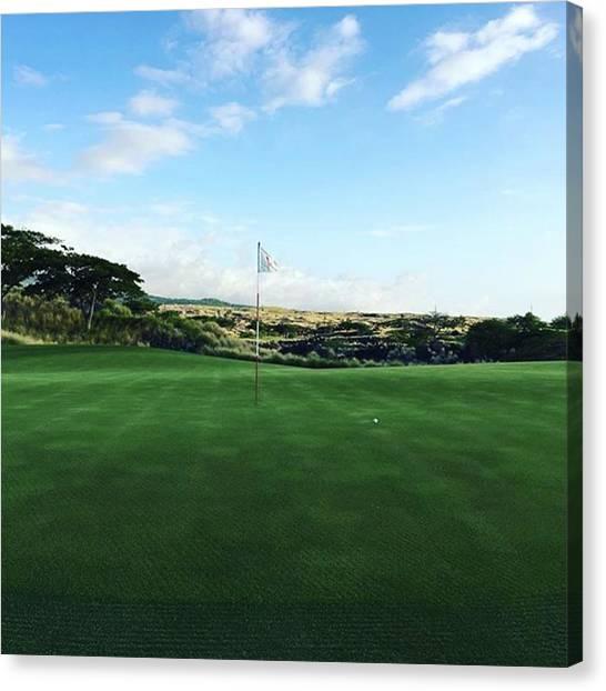Golfers Canvas Print - Instagram Photo by S Bonk