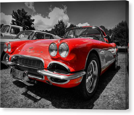 '59 Corvette 001 Canvas Print