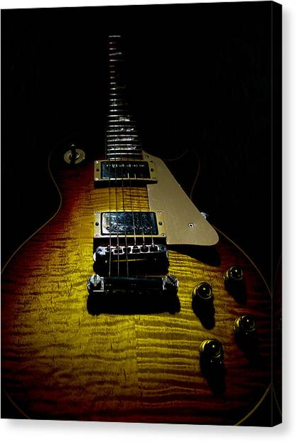 59 Reissue Guitar Spotlight Series Canvas Print