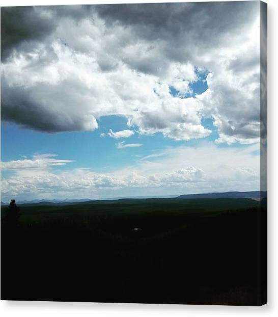Rocky Mountains Canvas Print - Big Sky Country by Jonathan Stoops