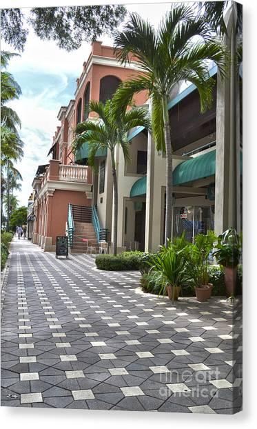 5th Avenue South Naples Florida Canvas Print