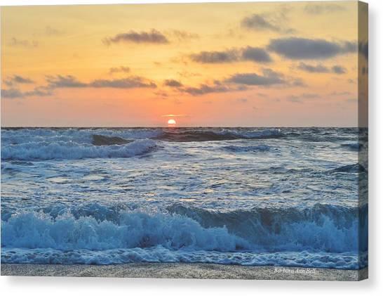 6/26 Obx Sunrise Canvas Print