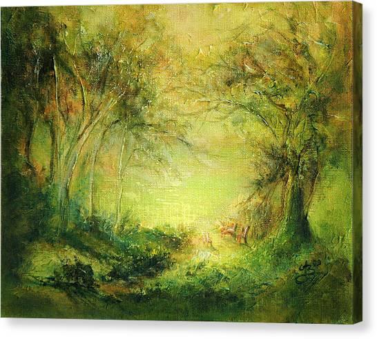 6 Canvas Print by Aneta  Berghane