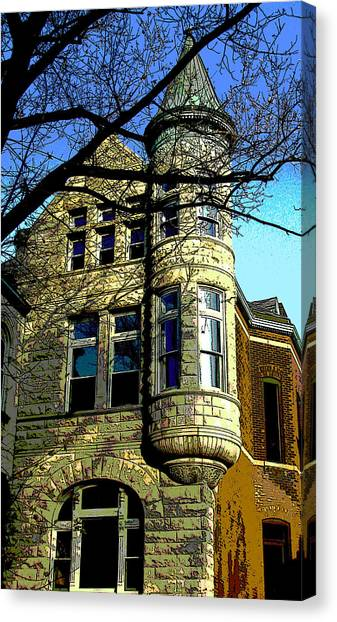 Architecture Series Canvas Print by Ginger Geftakys