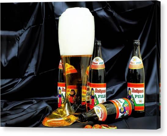 Lager Canvas Print - Beer by Mariel Mcmeeking