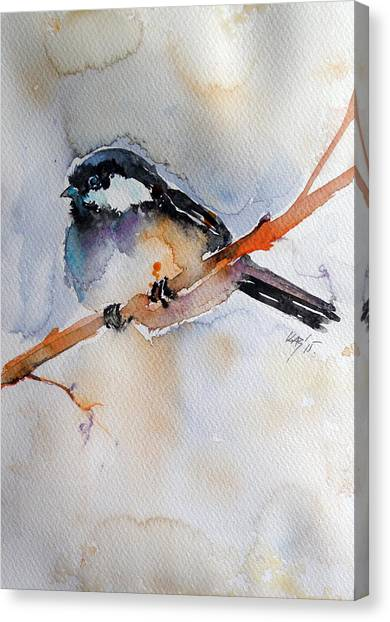 Titmouse Canvas Print - Bird by Kovacs Anna Brigitta