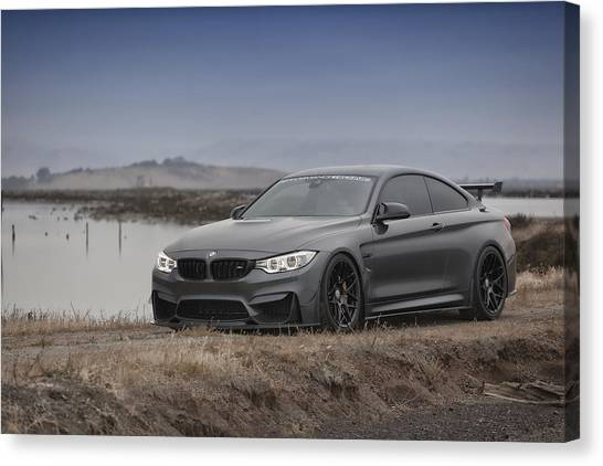 Bmw M4 Canvas Print