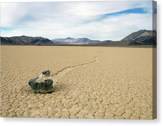 Death Valley Racetrack Canvas Print