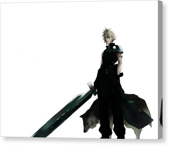 Final Fantasy Canvas Print - Final Fantasy by Mery Moon