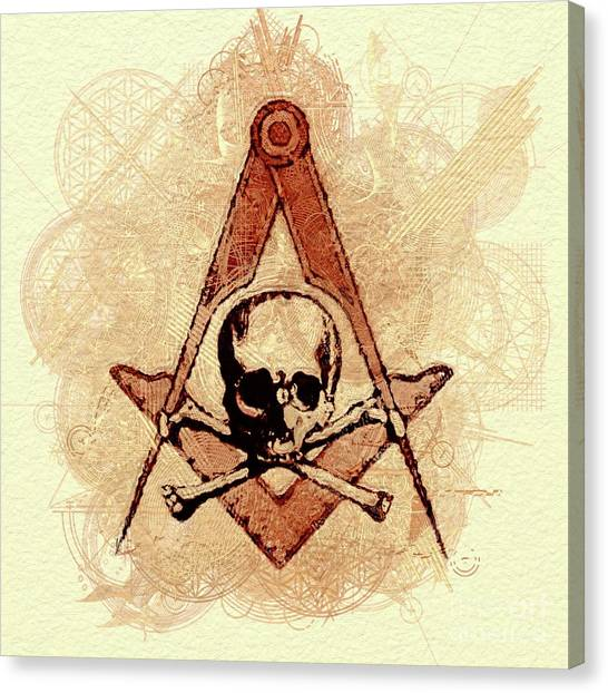 Occult Symbols Canvas Prints Fine Art America