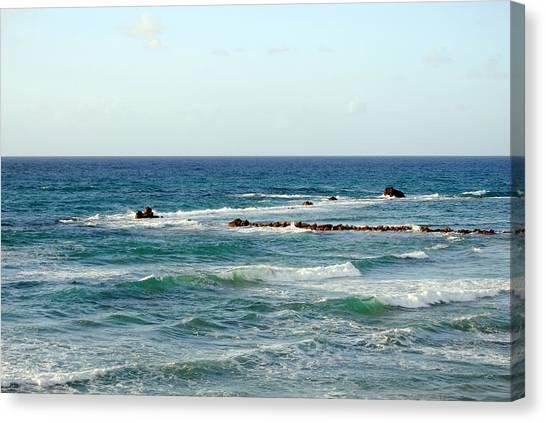 Jaffa Beach 4 Canvas Print