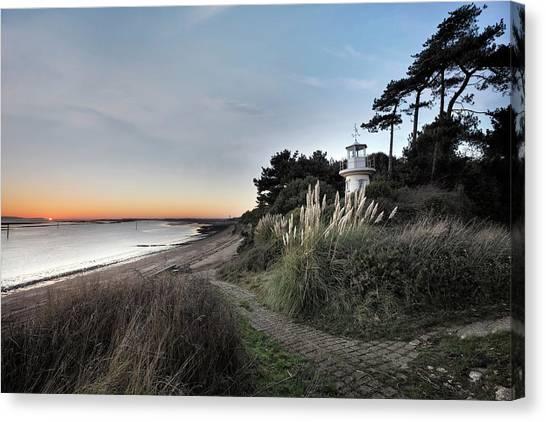 Scenic Canvas Print - Lepe - England by Joana Kruse