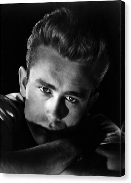 1950s Movies Canvas Print - Rebel Without A Cause, James Dean, 1955 by Everett