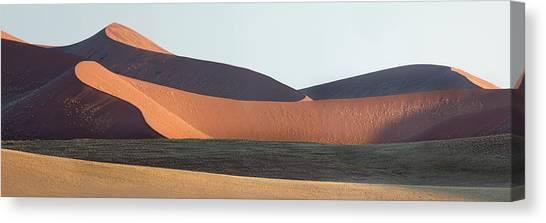 Namib Desert Canvas Print - Red Dunes, Sossusvlei, Namib Desert by Panoramic Images