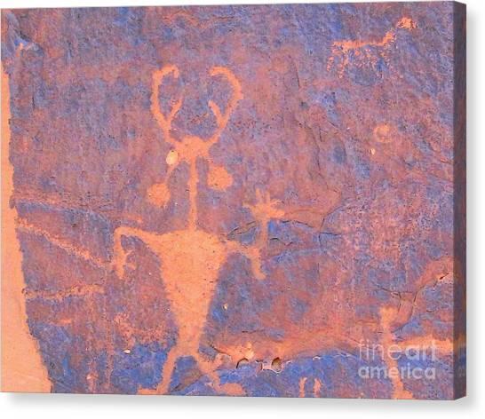 Rock Art - Utah Canvas Print