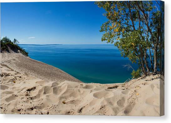 Lake Michigan Canvas Print - Sleeping Bear Dunes by Twenty Two North Photography