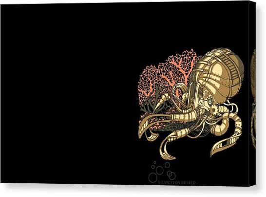 Steampunk Canvas Print - Steampunk by Super Lovely