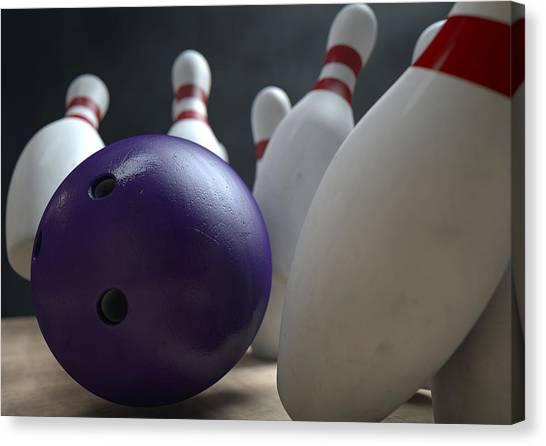Old Bowling Alley Canvas Prints Fine Art America