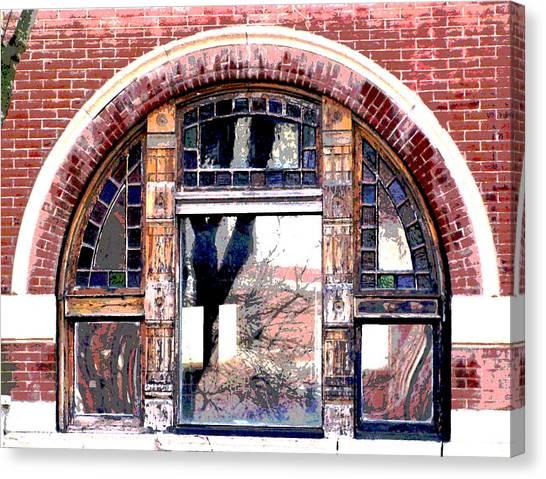Window Series Canvas Print by Ginger Geftakys