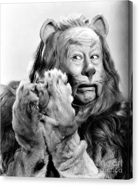 Lions Canvas Print - Wizard Of Oz, 1939 by Granger