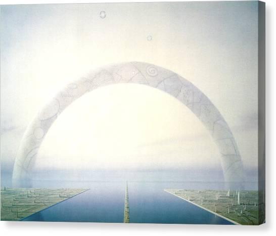 Protractors Canvas Print - Landscape by Maye Loeser