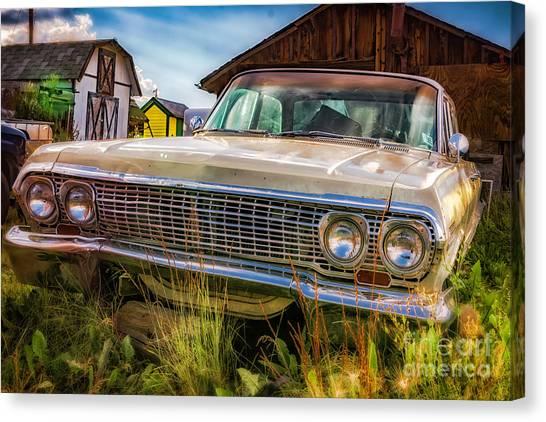 63 Impala Canvas Print