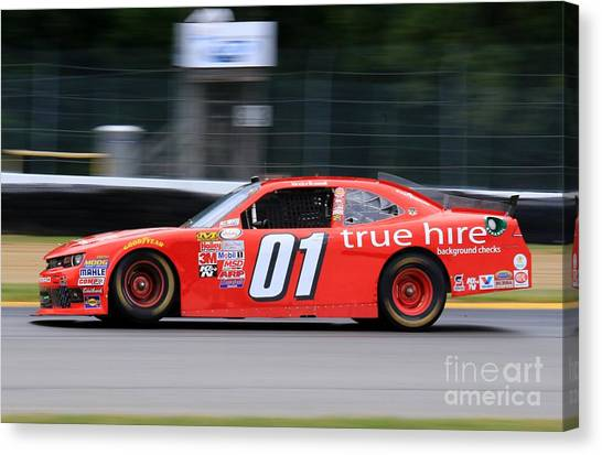 Richard Childress Canvas Print - Stock-car Motorsports by Douglas Sacha