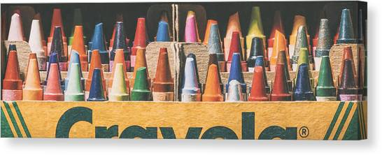 Wide Canvas Print - 64 Colors by Scott Norris