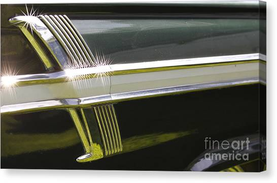 64 Ford Fairlane 500 Canvas Print