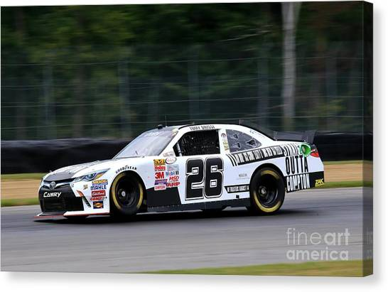 Richard Childress Canvas Print - Toyota Motorsports by Douglas Sacha