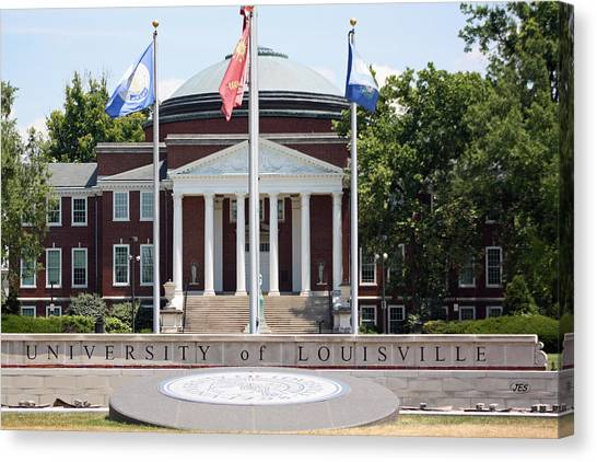 University Of Louisville Canvas Print - 6409 by Jim Simms