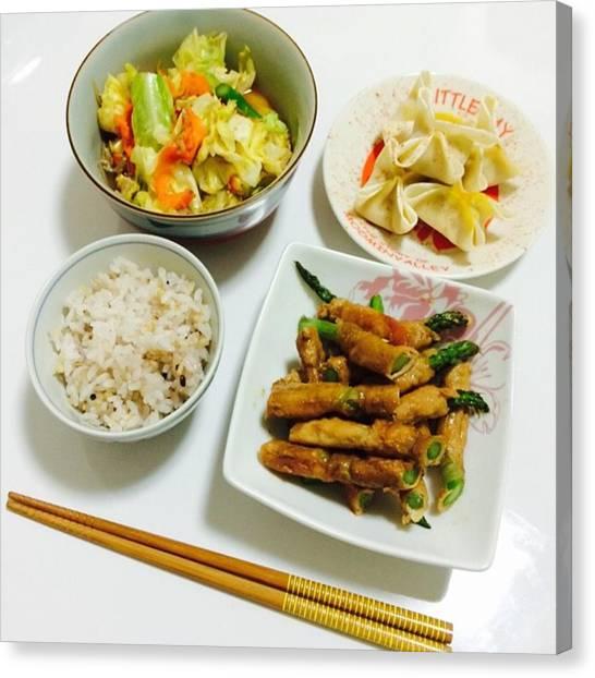 Asparagus Canvas Print - Instagram Photo by Terumi Saeki