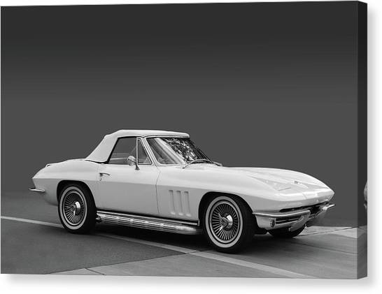 65 Corvette Roadster Canvas Print