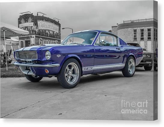 65' Mustang Canvas Print