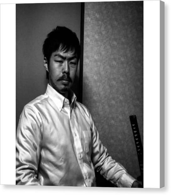 Samurai Canvas Print - Instagram Photo by Ryuichiro Hirakawa