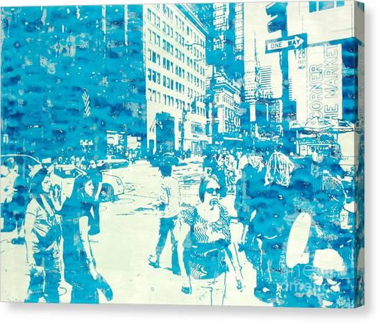 665 Fifth Avenue New York City Canvas Print by Jonathan Deutsch