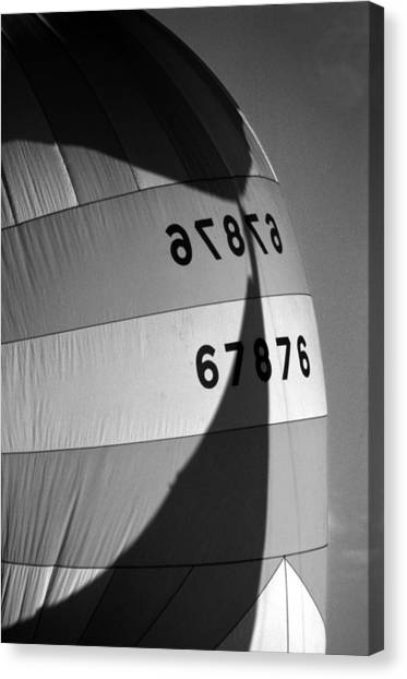 Spinaker Shadow Canvas Print